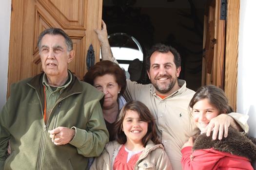Beneficios del mundo rural. Familia Corell