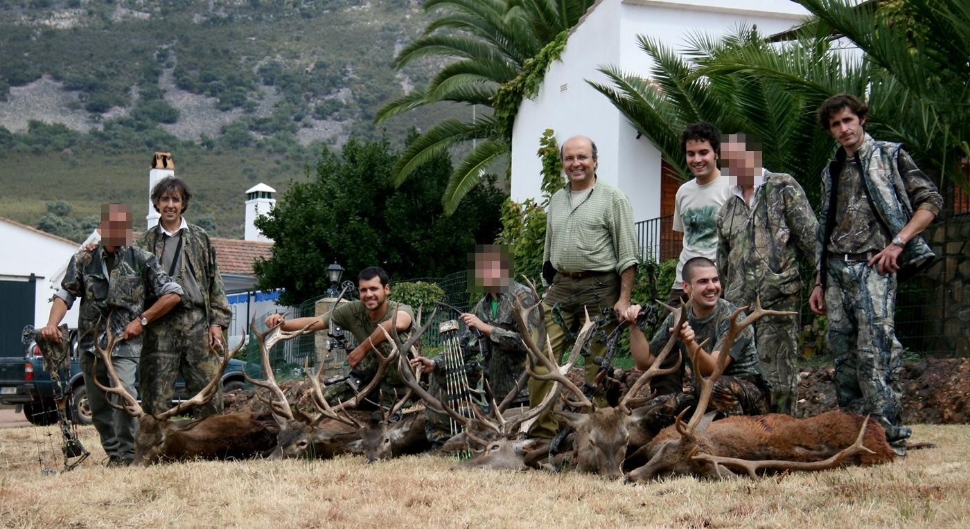 Oferta de caza con arco. Trofeos